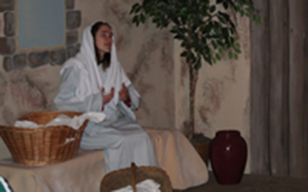 Journey to Bethlehem Scene 1